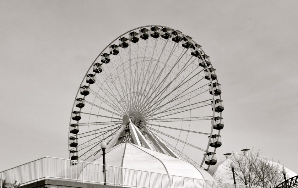 ferris wheel navy pier chicago