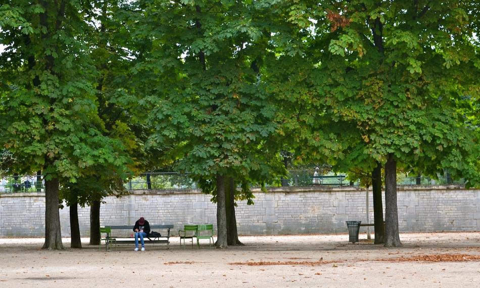 Solitude aux Tuileries