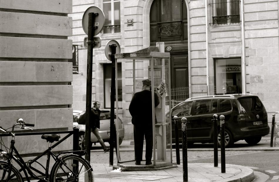 Cabine téléphonique Bordeaux