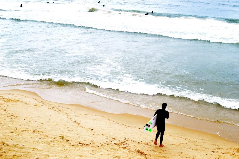 Surfing Tel-Aviv